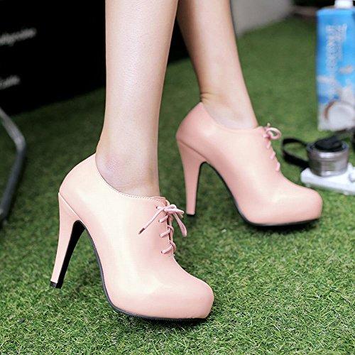Stivali Da Donna Con Tacco Alto Alla Caviglia Con Tacco Alto Carolbar