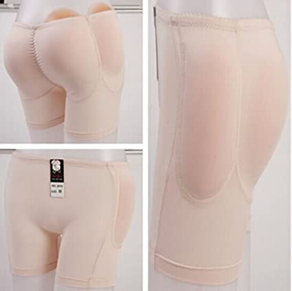 dbcda49faf4 ewinever(TM) 1set Silicone Padded Panties Shapewear Bum Butt Hip Enhancing  Underwear Crossdresser Padded