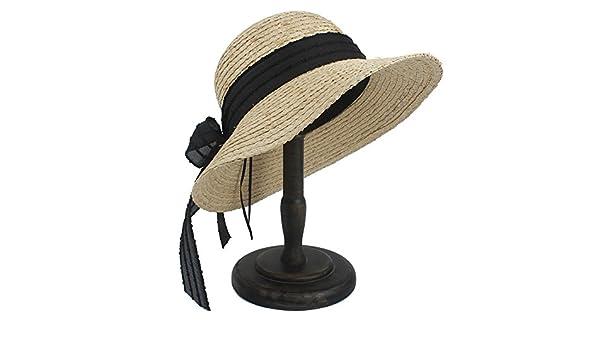 Sombrero Sombreros de Sol Sombreros de Visera de Paja de Paja de ...
