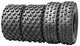 Set of 4 New Sport ATV Tires 21x7-10 Front & 20x10-9 Rear /4PR - 10075/10081