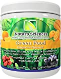 Super Greens Food Supplement By Naturo Sciences the First Complete Green Food To Go Nutrition with Powerful Food Based Multi Vitamins with Wheat Grass for You Amazing Tangerine 8.5oz 30 Servings