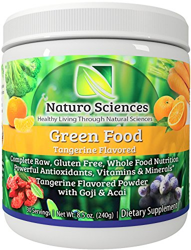 Super Greens Food Supplement By Naturo Sciences the First Complete Green Food