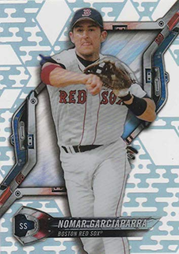 2018 Topps High Tek Pattern 3 Diamond Grid #HT-NG Nomar Garciaparra Boston Red Sox Baseball Card