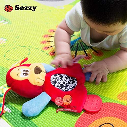 Amazon.com: Sozzy Doll Dinosaurio Toalla suave para bebé ...