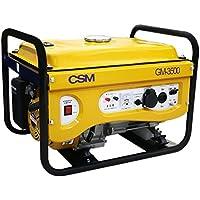 Gerador de Energia Portátil a Gasolina 4T Partida Manual 3,5 Kva 110/220v-CSM-GM-3500