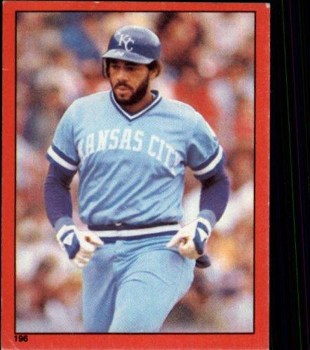 1982 Topps Baseball Sticker #196 Willie Aikens Mint - Baseball 1982 Topps Sticker