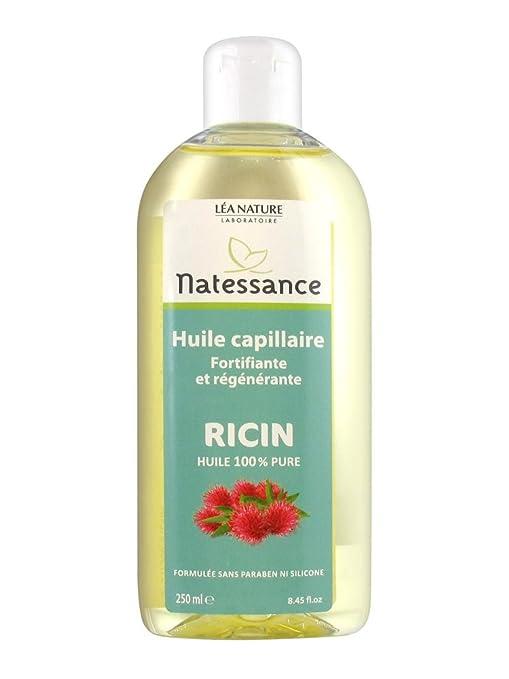 Natessance aceite capilar ricino para cabello/uñas 250 ml