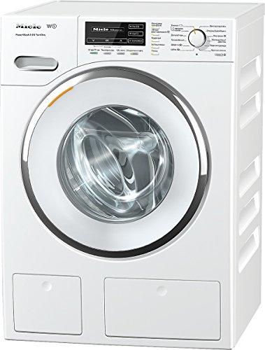 Miele WMH121WPS D LW PWash 2.0 und TDos Waschmaschine FL / A+++ / 137 kWh / Jahr / 1600 UpM / 8 kg / Schneller sauber geht es nicht - QuickPowerWash / Bestes Flüssigwaschmittel auf Knopfdruck / weiß