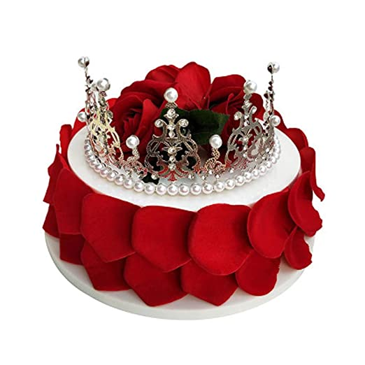 Pleasing Pretend Cake Crown Style Simulation Cake Decoration Birthday Cake Funny Birthday Cards Online Kookostrdamsfinfo