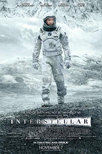 Posters USA - Interstellar Movie Poster GLOSSY FINISH)- MOV172 (24 x 36 (61cm x 91.5cm))