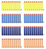 80pcs 7.2cm Nerf gun bullets, YSSHUI Suction Darts for Nerf N-strike Elite Series Blasters Kid Toy Gun