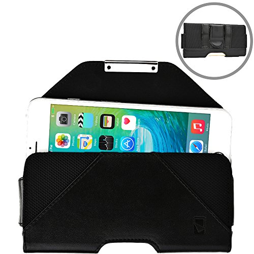 Micromax A075 Bolt / A71 Bolt / A65 Bolt Smart 4.3 phone case, COOPER BELT MATE Mobile Cell Phone Magnetic Protective Case Cover Holster Pouch (Black) (Micromax Bolt A71)