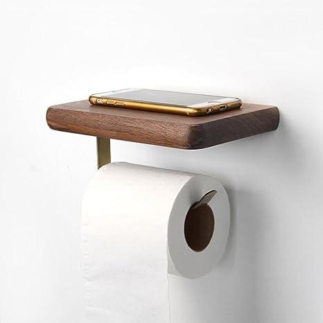 Relativ Toilettenpapierhalter Toilettenpapierhalter Holz CB72