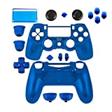 Game Bully Controller Full Housing Shell - Chrome Blue - PlayStation 4 by Game Bully