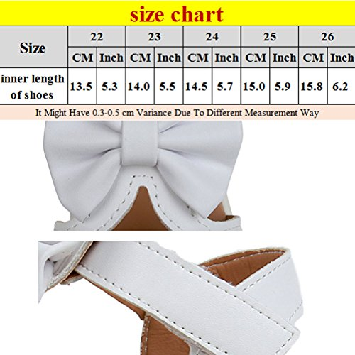 Zhhlinyuan Fashion Toddler Bow tie knot Sandals Shoes Kids Baby Boys Summer Shoes Pink