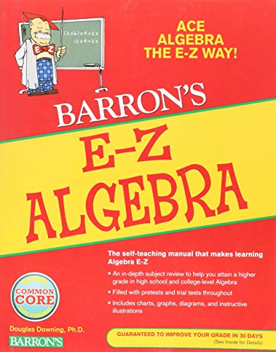 E-Z Algebra (Barron's Easy Series)