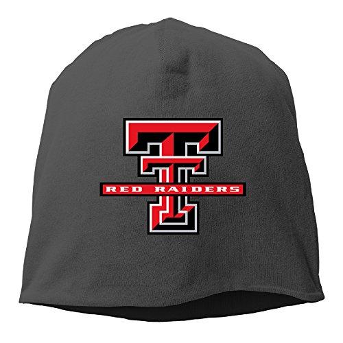 Caromn Texas Tech University Red Raiders Beanies Skull Ski Cap Hat (Crown Royale Costume)