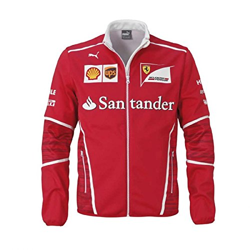 Ferrari 2017 Team Soft Shell Red - - Ferrari Jacket Men