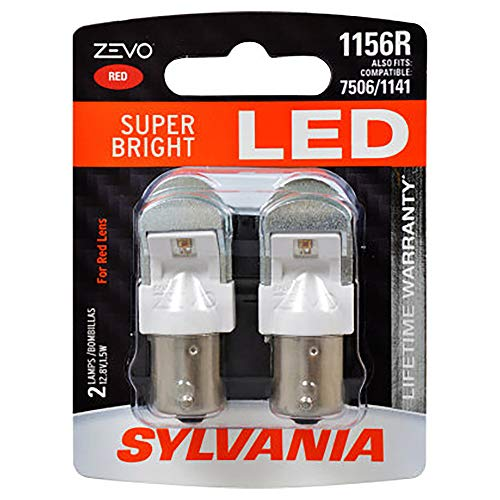 red 1156 bulb - 8