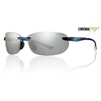 25e1f1a428 Smith Optics Turnkey Midnight Blue ChromaPop Polarized Platinum Sunglasses   Amazon.ca  Sports   Outdoors