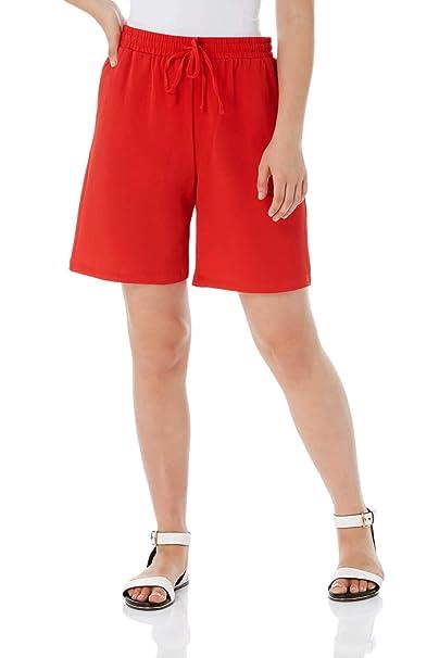 Women Cargo Shorts Combat Chino Ladies Knee Length Summer Holiday Pants NEW UK