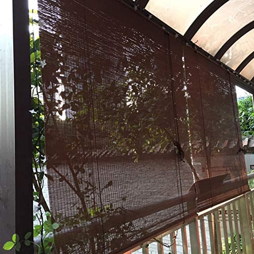 Persianas Enrollables para Patio al Aire Libre, Cortina Enrollable Exterior para Balcón Pérgola Mirador Cubierta, Fácil de Instalar, 85cm/105cm/125cm/135cm/140cm de Ancho (Size : 85×200cm): Amazon.es: Hogar