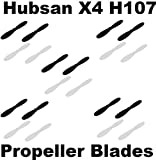 Hubsan X4 H107 Propeller Blades Props 5x COMBO Propellers SHIPS FROM USA B&W Color: Black+White Model: