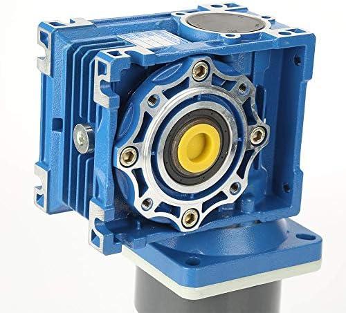 ZJN-JN ウォームギヤモーター、記念日窓ドアオープナーミニウインチ(5K)用DC24V 90W 1800RPMの8Aの耐摩耗変動金利ウォームギヤモーターをセルフロック 工業用モータ