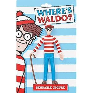 NJ Croce Where's Waldo? Bendable Figure Toy Figure