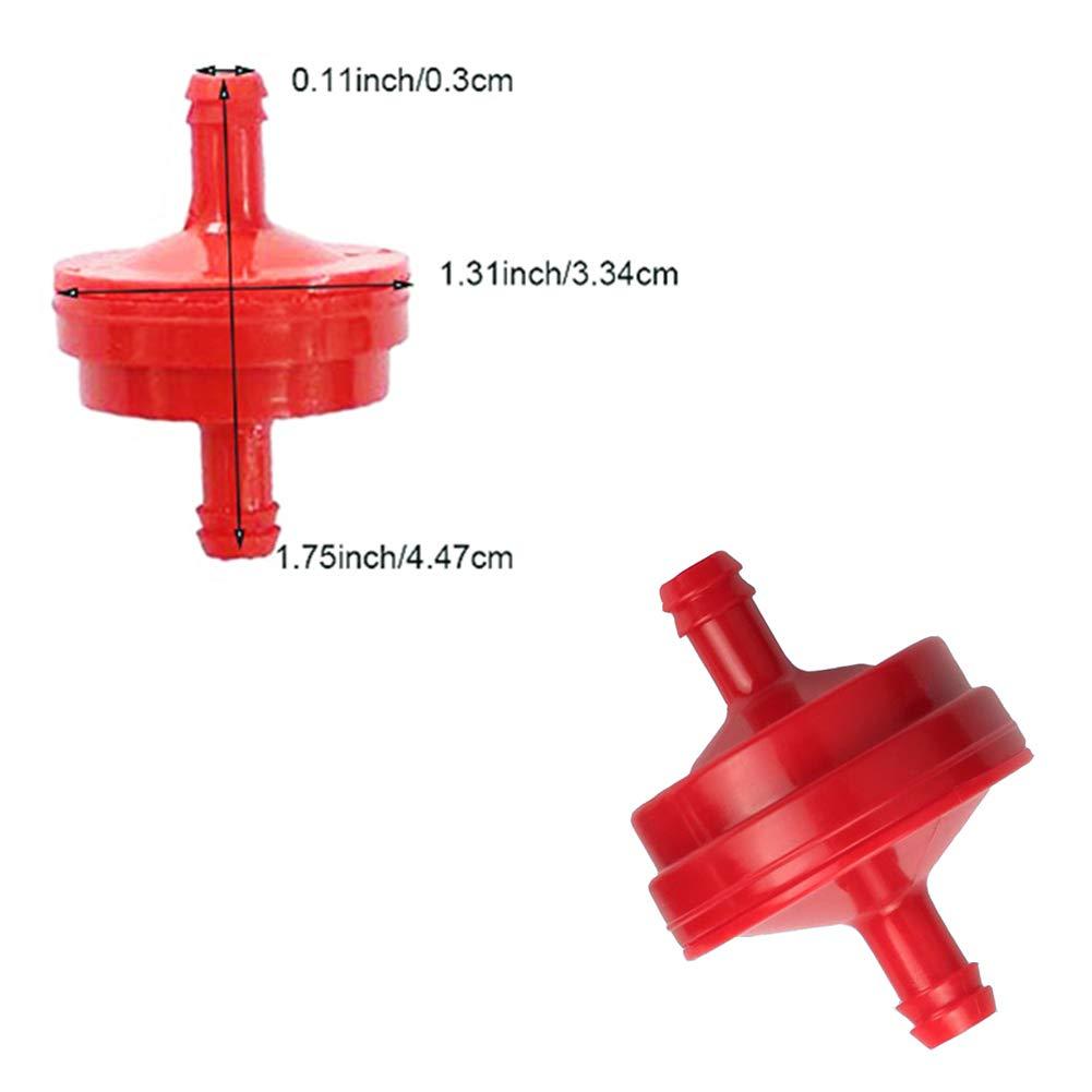 QAZAKY Primer Bulb Fuel Filter Line for Tecumseh Snowblower Snowthrower 570682 75110639 056200 95110639A 95110888A 298090 07101 69701 425240 566360 07101 632334A 640349 HM70 HM80 HMSK80 HMSK90 HMSK100