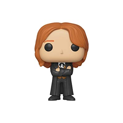 Funko Pop! Movies: Harry Potter - Fred Weasley (Yule): Toys & Games