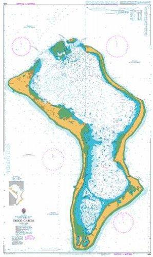BA Chart 920: Indian Ocean, British Indian Ocean Territory, Chagos Archipelago, Diego Garcia
