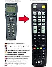 Vervangende afstandsbediening geschikt voor Sony STR-DB840 | STR-DB840QS | STR-DB940 | STR-DB940QS | STR-DE945