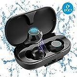 Bluetooth Earbuds, FONESO TWS True Wireless Earbuds Bluetooth 5.0 Earphones, Sweatproof Noise Cancelling