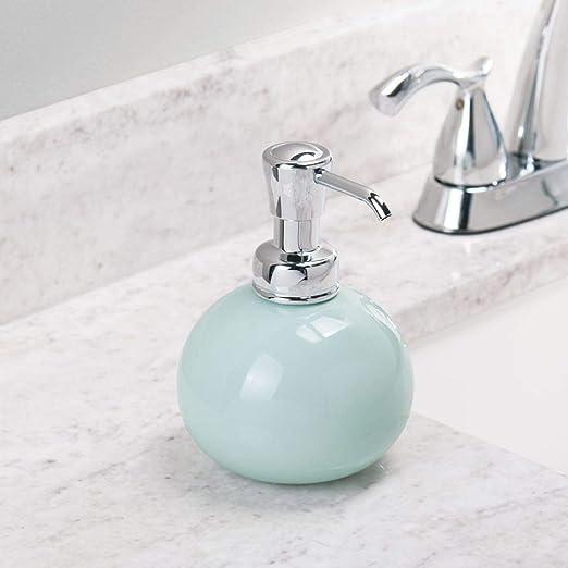 Idesign York Seifenspender Runder Badezimmer Seifenspender Aus
