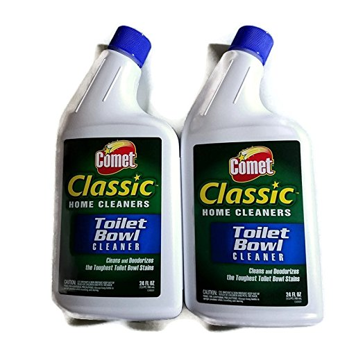 Comet Classic Toilet Bowl Cleaner 24 Fluid Ounce - 2 Pack