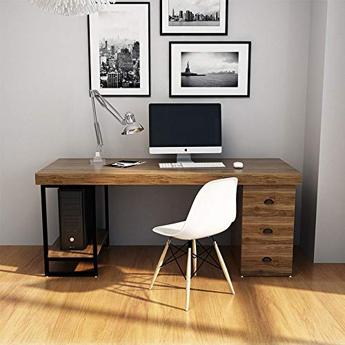 QuRRong Computer Desk Simple Writing Computer Tables File