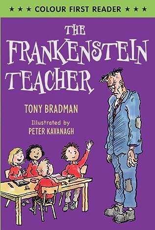 book cover of The Frankenstein Teacher
