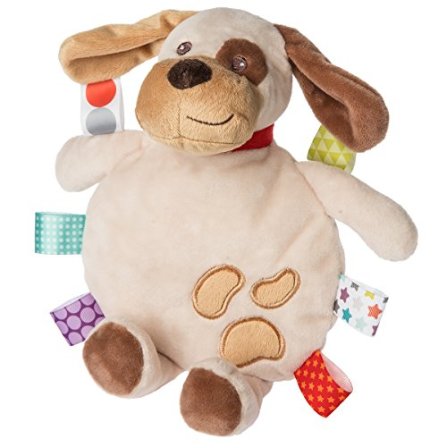 Mary Meyer Taggies Buddy Dog Cookie Crinkle Toy (Tag Water)