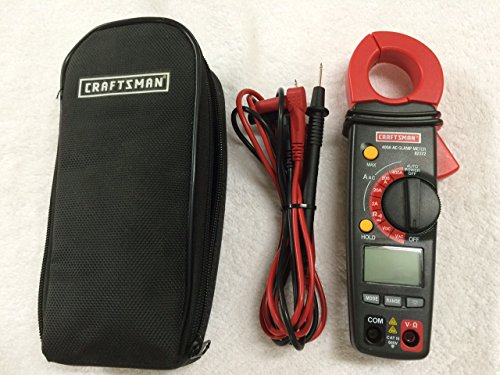 Craftsman Digital 400A AC Clamp-On Ammeter - 82372