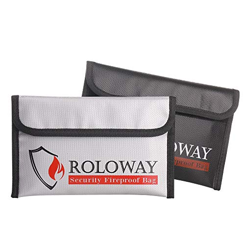ROLOWAY Small Fireproof Bag