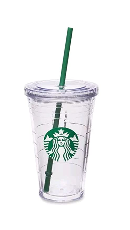 fcb14ec958d Amazon.com: Starbucks Cold Cup, Grande 16 fl oz: Kitchen & Dining