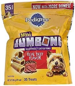 Amazon.com : Pedigree Jumbone Mini Bones Dog Treats, 25