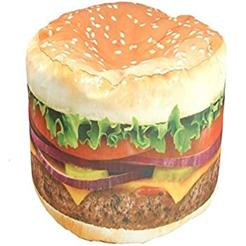 Merveilleux Works Hamburger Junior Beanbag Chair (86813J)