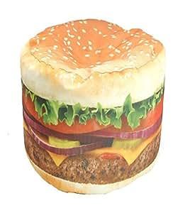 Wow! Works Hamburger Junior Beanbag Chair (86813J)