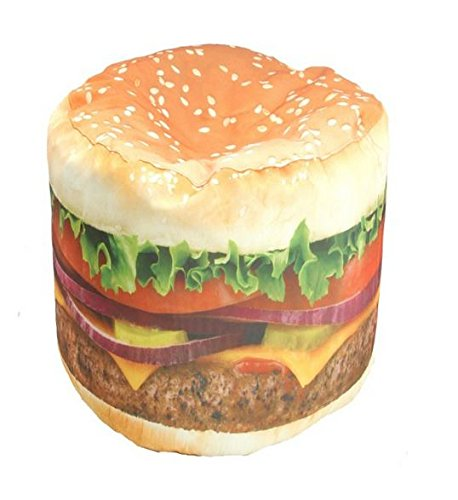 (Wow! Works Hamburger Junior Beanbag Chair (86813J))