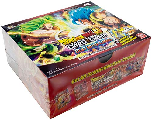 Dragon Ball Super Series 6 Destroyer Kings TCG Booster Display Box - 24 Packs Booster Box Dragon Ball