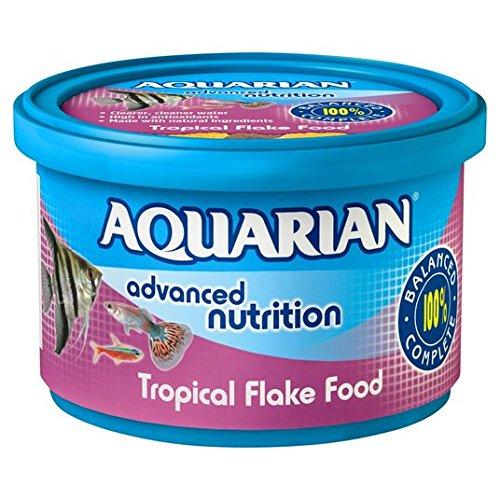 Acuario de peces tropicales de comida Flakes 50g