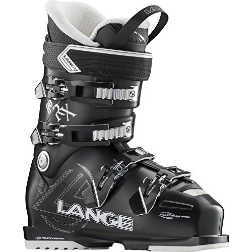 (Lange RX 80 Ski Boot - Women's Black 235)