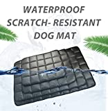 furrybaby indestructible Oxford Fabric Waterproof Dog Mat Non Slip High-Density Pet Bed Cushion Mat Outdoors Travel for Dog and Cats 24''x37'' Black